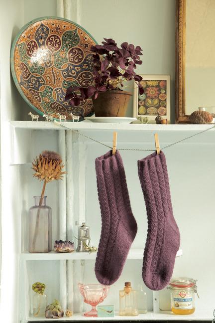 Knitting 24-7 socks