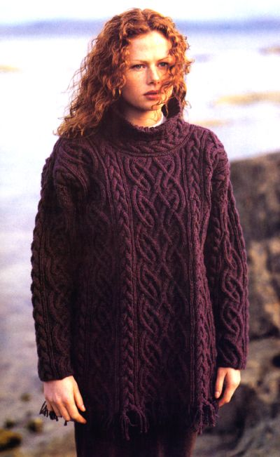 Book Review: Aran Knitting - And She Knits Too!