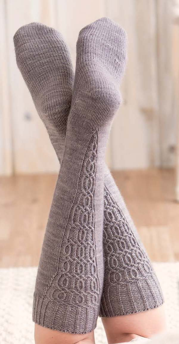 Review Custom Socks Knit To Fit Your Feet And She Knits Too