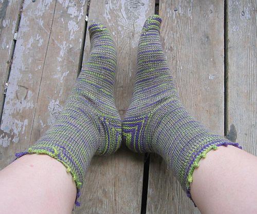 Jungle Stripe Socks