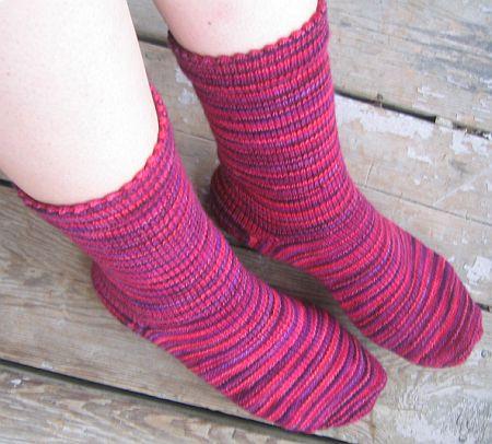 Red Hot Koigu Socks