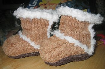 Baby Ugg Bootees
